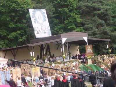 Dożynki Diecezjalne w Gietrzwałdzie