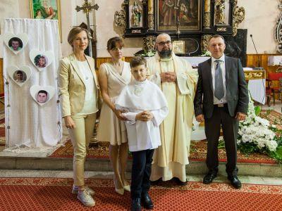 I Komunia Święta Zuzanny, Filipa, Macieja i Patryka