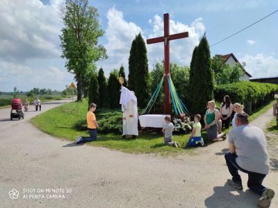 Boże Ciało 2020 r. - Objazd parafii