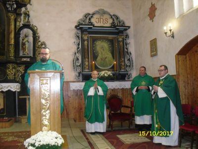 Powitanie księdza Grzegorza Zapotocznego