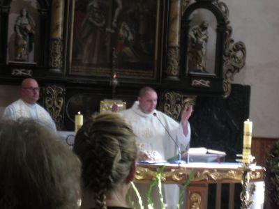 Pożegnanie księdza Remigiusza Zanieckiego