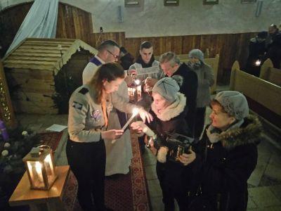 Przekazanie Betlejemskiego Światełka Pokoju 2017