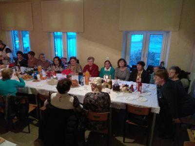 Spotkanie Opłatkowe Członków Kół Żywego Różańca naszej parafii - 06 I 2020 r.